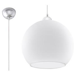 Lampa Wisząca BALL Biała - Sollux