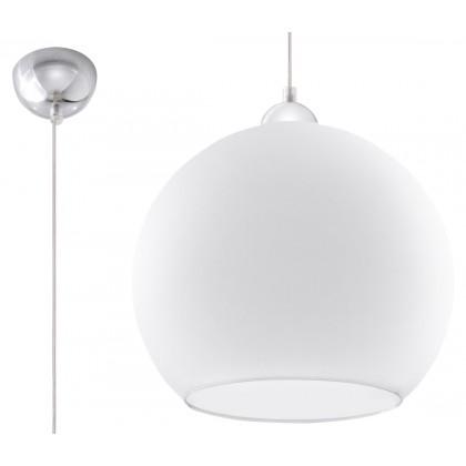 Lampa Wisząca BALL Biała - Sollux - SL.0256 - tanio - promocja - sklep