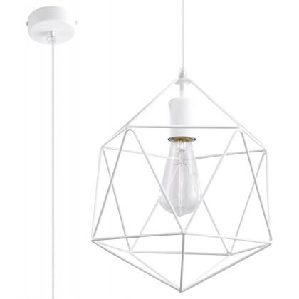Lampa Wisząca GASPARE Biała - Sollux - SL.0290 - tanio - promocja - sklep