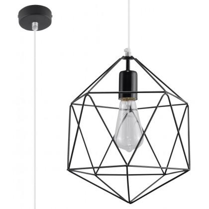 Lampa Wisząca GASPARE Czarna - Sollux - SL.0291 - tanio - promocja - sklep