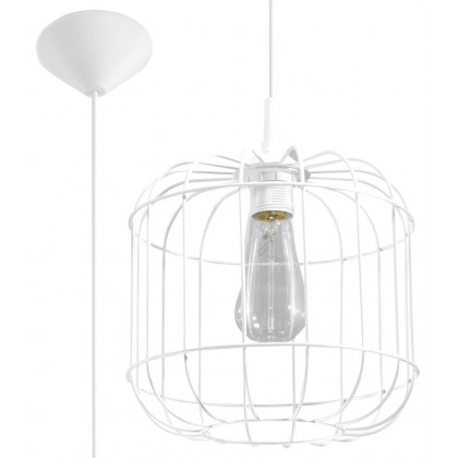 Lampa Wisząca CELTA Biała - Sollux - SL.0295 - tanio - promocja - sklep