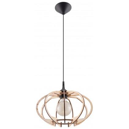 Lampa Wisząca MANDELINO Naturalne Drewno - Sollux - SL.0392 - tanio - promocja - sklep