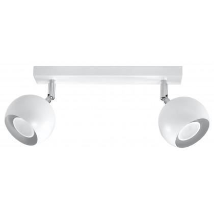 Plafon OCULARE 2 Biały - Sollux - SL.0438 - tanio - promocja - sklep
