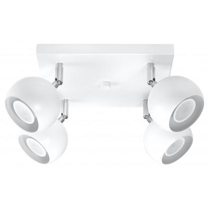 Plafon OCULARE 4 Biały - Sollux - SL.0440 - tanio - promocja - sklep