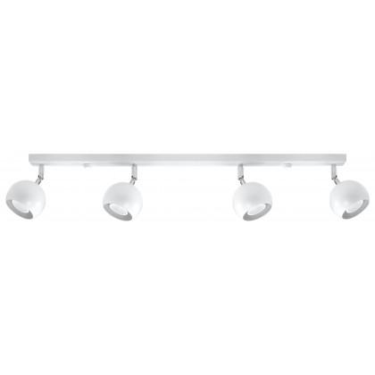 Plafon OCULARE 4L Biały - Sollux - SL.0441 - tanio - promocja - sklep