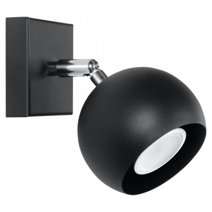 Kinkiet OCULARE Czarny - Sollux - SL.0443 - tanio - promocja - sklep
