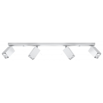 Plafon MERIDA 4L Biały - Sollux - SL.0463 - tanio - promocja - sklep
