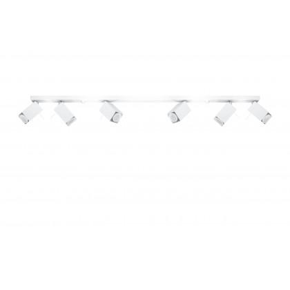 Plafon MERIDA 6L Biały - Sollux - SL.0464 - tanio - promocja - sklep