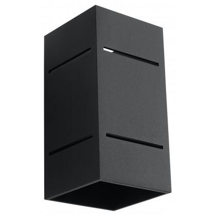 Kinkiet BLOCCO Czarny - Sollux - SL.0478 - tanio - promocja - sklep