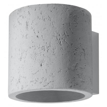 Kinkiet ORBIS Beton - Sollux - SL.0486 - tanio - promocja - sklep