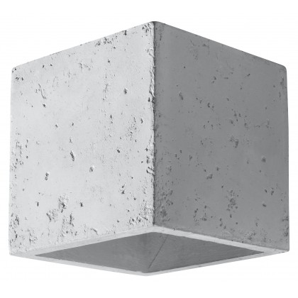 Kinkiet QUAD Beton - Sollux - SL.0487 - tanio - promocja - sklep
