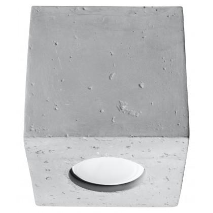 Plafon QUAD Beton - Sollux - SL.0489 - tanio - promocja - sklep