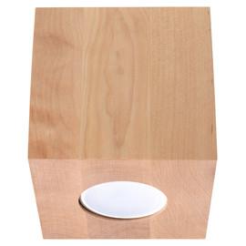 Plafon QUAD Naturalne Drewno - Sollux