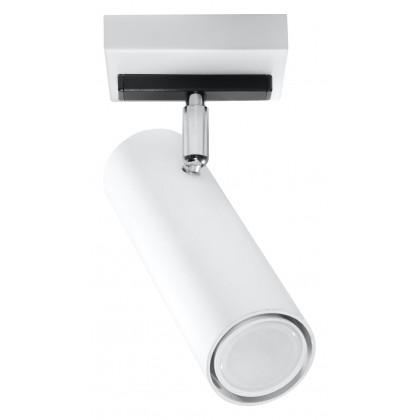 Plafon DIREZIONE 1 Biały - Sollux - SL.0495 - tanio - promocja - sklep