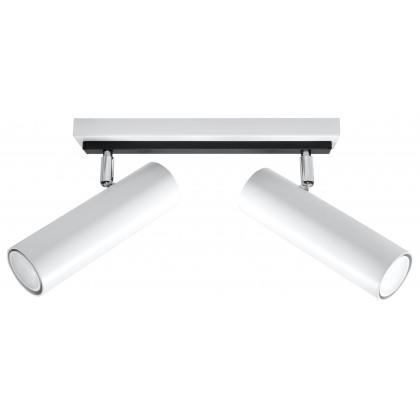 Plafon DIREZIONE 2 Biały - Sollux - SL.0496 - tanio - promocja - sklep