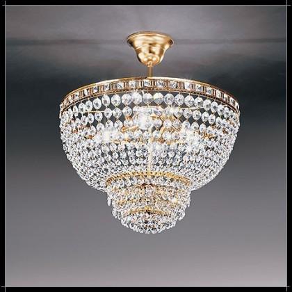 Amsterdam Sospensione 50 - Voltolina - kryształowa lampa wisząca