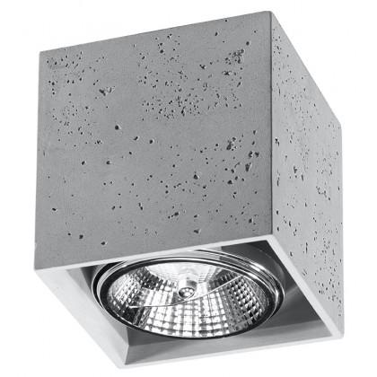 Plafon VALDE 140 beton - Sollux - SL.0646 - tanio - promocja - sklep