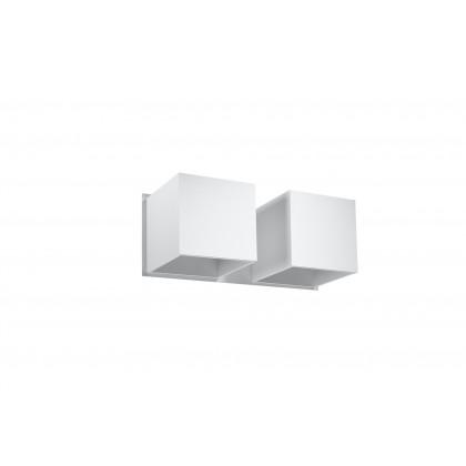 Kinkiet QUAD 2 biały - Sollux - SL.0656 - tanio - promocja - sklep