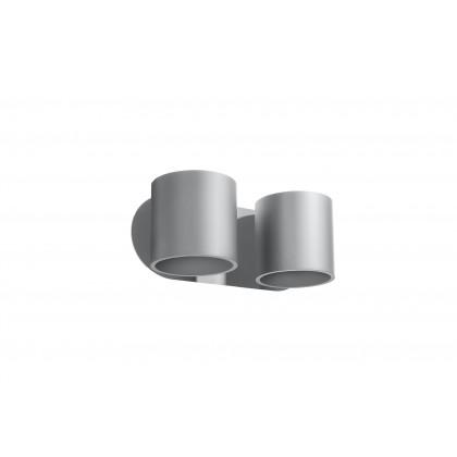 Kinkiet ORBIS 2 szary - Sollux - SL.0661 - tanio - promocja - sklep