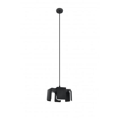 Lampa wisząca TULIP czarny - Sollux - SL.0667 - tanio - promocja - sklep