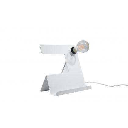 Lampa biurkowa INCLINE biała - Sollux - SL.0668 - tanio - promocja - sklep
