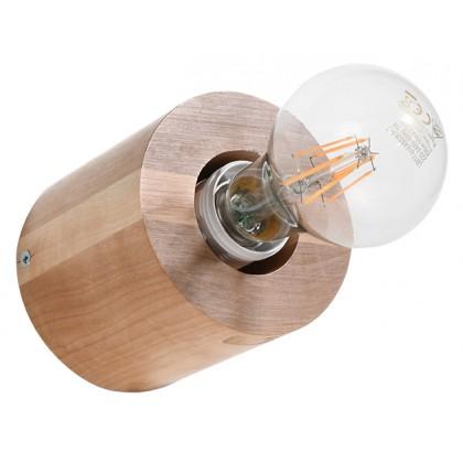 Kinkiet SALGADO naturalne drewno - Sollux - SL.0673 - tanio - promocja - sklep
