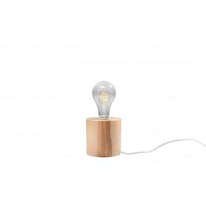 Lampa biurkowa SALGADO naturalne drewno - Sollux - SL.0674 - tanio - promocja - sklep