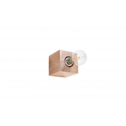 Kinkiet ABEL naturalne drewno - Sollux - SL.0676 - tanio - promocja - sklep