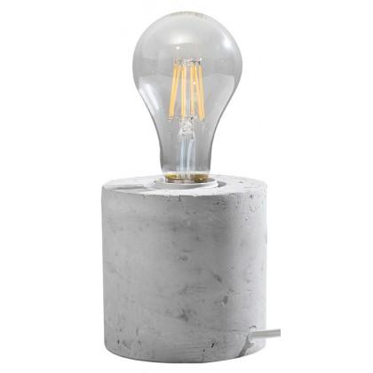 Lampa biurkowa SALGADO beton - Sollux - SL.0680 - tanio - promocja - sklep