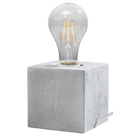 Lampa biurkowa ABEL beton - Sollux