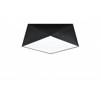Plafon HEXA 35 czarny - Sollux - SL.0690 - tanio - promocja - sklep