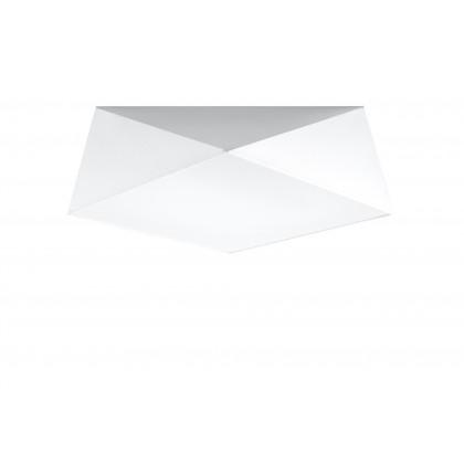 Plafon HEXA 45 biały - Sollux - SL.0692 - tanio - promocja - sklep