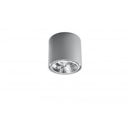 Plafon TIUBE szary - Sollux - SL.0696 - tanio - promocja - sklep