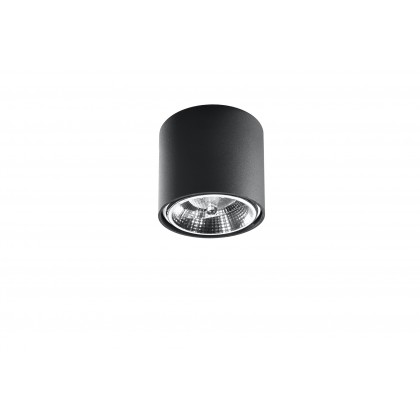 Plafon TIUBE czarny - Sollux - SL.0697 - tanio - promocja - sklep