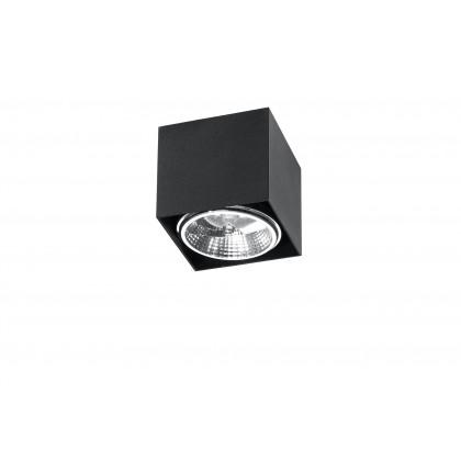 Plafon BLAKE czarny - Sollux - SL.0700 - tanio - promocja - sklep