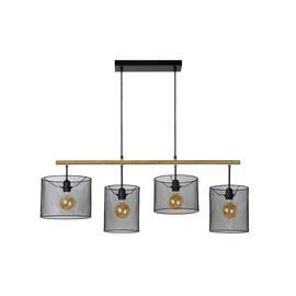 Baskett L107 czarny - Lucide - lampa wisząca
