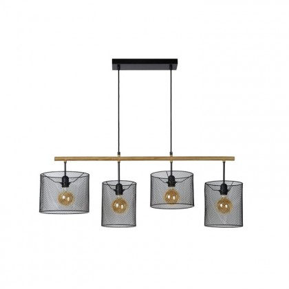Baskett L107 czarny - Lucide - lampa wisząca - 45459/04/30 - tanio - promocja - sklep