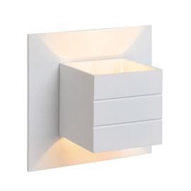 Bok L15 biały - Lucide - lampa ścienna