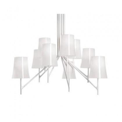 Birdie 9 biały - Foscarini - lampa wisząca - P221008910W - tanio - promocja - sklep