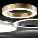 Golden Ring czarny - Panzeri - lampa wisząca
