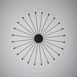 POP 40 Chandelier czarny - Oty light - lampa wisząca