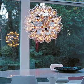 Taraxacum 88 S2 aluminium - Flos - lampa wisząca