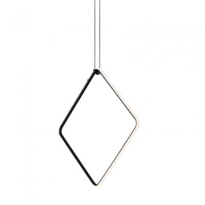 Arrangements Square Large czarny - Flos - lampa wisząca - F0409030 - tanio - promocja - sklep