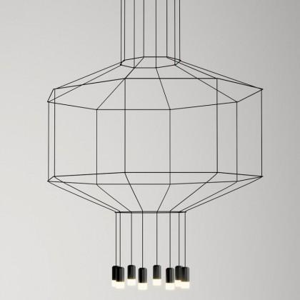 Wireflow 0299 czarny - Vibia - lampa wisząca - 02994 - tanio - promocja - sklep