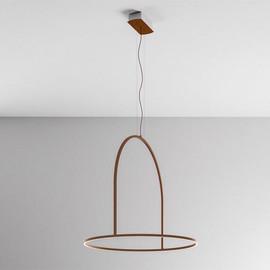 U-Light 90 brązowy - Axo Light - lampa wisząca