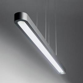 Talo 90 LED srebrny - Artemide - lampa wisząca