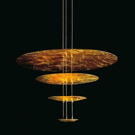 Macchina della Luce mod. A złoty - Catellani & Smith - lampa wisząca