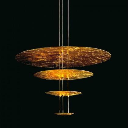 Macchina della Luce mod. A złoty - Catellani & Smith - lampa wisząca - HMLAELGO - tanio - promocja - sklep