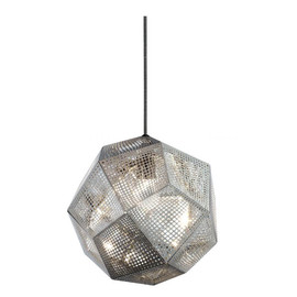 Etch Shade aluminium - Tom Dixon - lampa wisząca