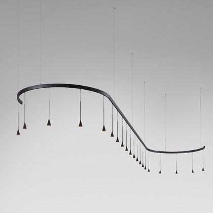 Skybell modular S/20L/40 czarny - Bover - lampa wisząca - 35726209056 - tanio - promocja - sklep